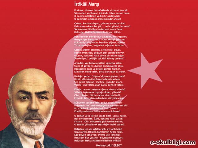 İstiklal Marşı - M. Akif Ersoy