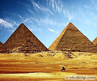 Mısır Piramitlerinin tarihçesi – sırrı nedir?
