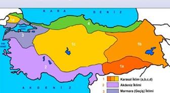 Türkiye'de görülen iklim çeşitleri ve özellikleri nelerdir?