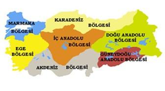 Türkiye'nin coğrafi bölgeleri ve özellikleri