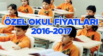 Özel Okul Fiyatları 2015-2016 Öğretim Yılı