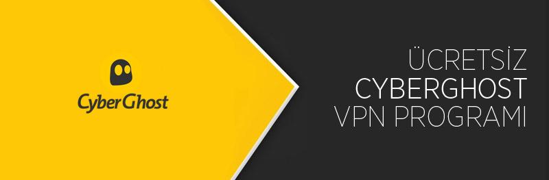 Ücretsiz CyberGhost VPN