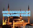 2018 yılı Ramazan ayı başlangıç tarihi ne zaman?