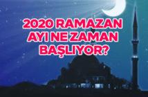 2020 Ramazan ayı ne zaman başlıyor?